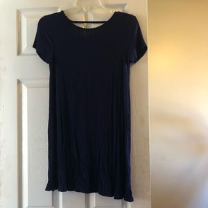 Dresses & Skirts - Navy blue T-shirt dress